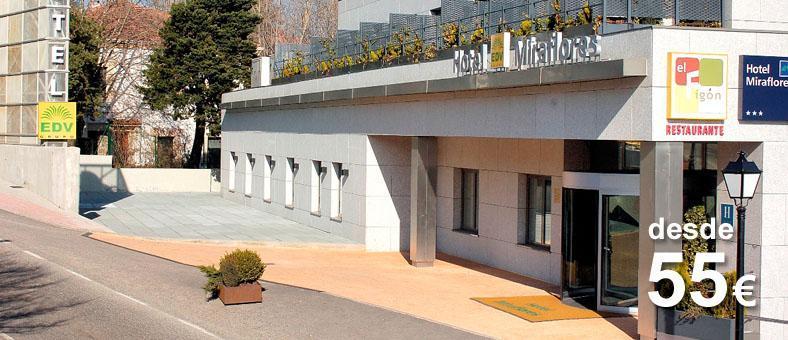 hoteles de la sierra de madrid: